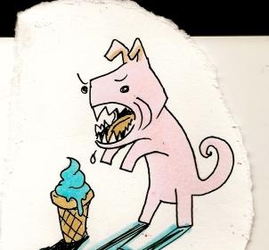 Ice Cream Bark