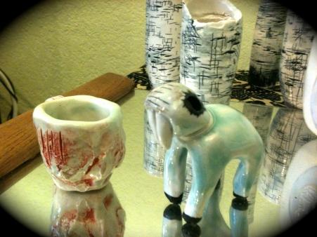 Celadon Porcelain Experiments