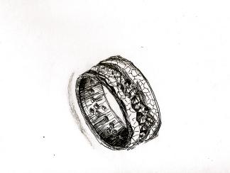 Ring sketch (Gavin Escolar design)