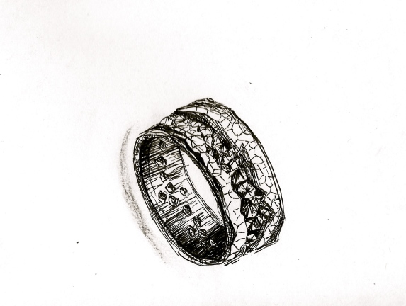 Ring sketch (Gavin Escolar design)
