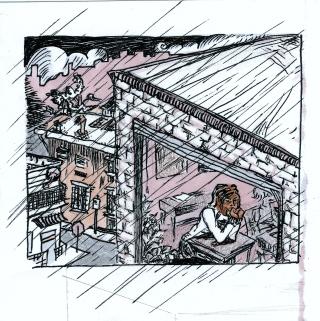 Rain Panel 1
