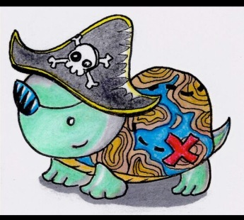 Pirate Treasure Turtle
