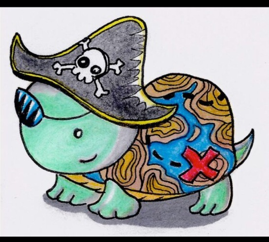 Pirate Treasure Turtle