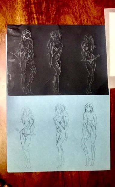 Woman Figure x3