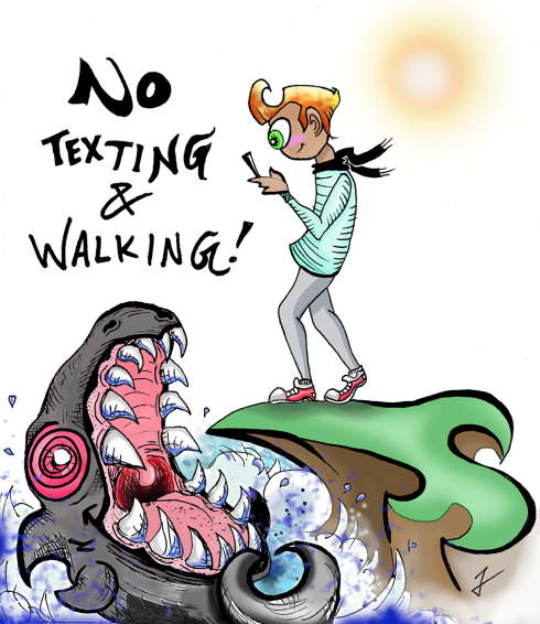 No Texting and Walking